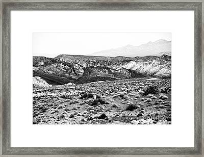 Into The Valley They Went Framed Print by John Rizzuto
