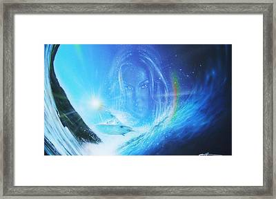 Ocean - ' Into The Void ' Framed Print