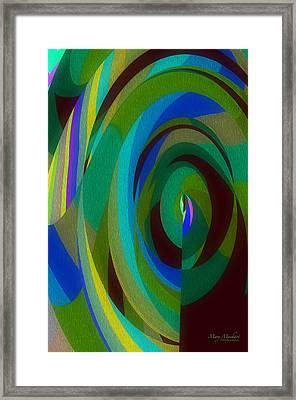 Into The Void Framed Print by Mary Machare