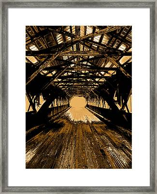 Into The Void Framed Print by Mike Greco