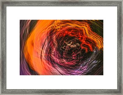 Into The Void Framed Print by Steve Belovarich