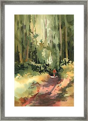 Into The Wild Framed Print by Kris Parins