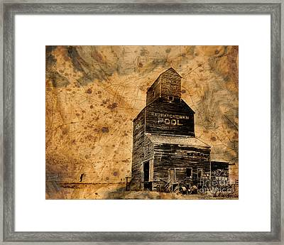 Into The Wind Framed Print by Judy Wood