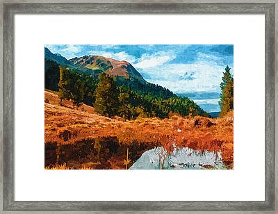 Into The Woods Framed Print by Ayse Deniz