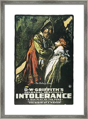 Intolerance Film, 1916 Framed Print by Granger
