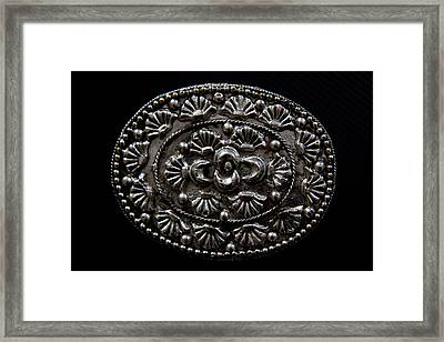 Intricate Detail Framed Print by Kim Lagerhem