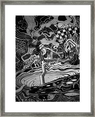 Intricate Emotions Framed Print by Philip Latour