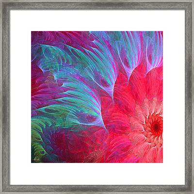 Intricately Delicate Framed Print