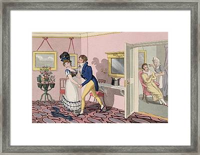 Intrigue, Plate 10 From The Necessary Framed Print
