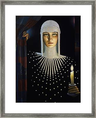 Intrique Framed Print