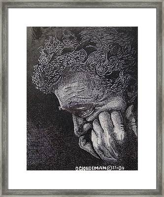 Introspection Framed Print by Denis Gloudeman