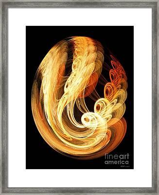 Introspection Framed Print by Elizabeth McTaggart