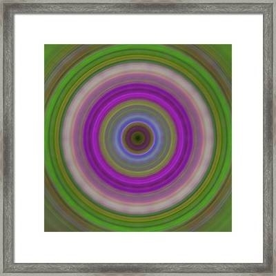 Introspection - Energy Art By Sharon Cummings Framed Print