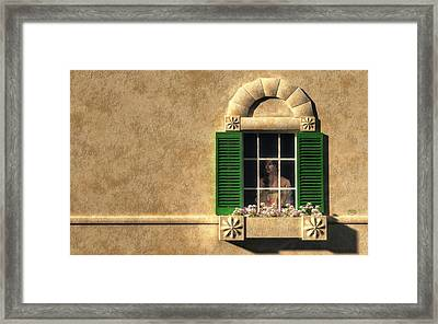 Introvert Framed Print by Daniel Eskridge