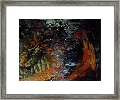 Intruder Framed Print by Karen Lillard