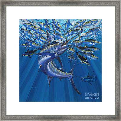 Intruder Off003 Framed Print by Carey Chen