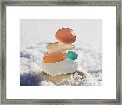 Intuition Framed Print by Barbara McMahon