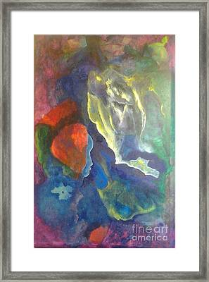 Intuition Framed Print by Bebe Brookman