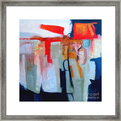 Intuition II Framed Print by Virginia Dauth