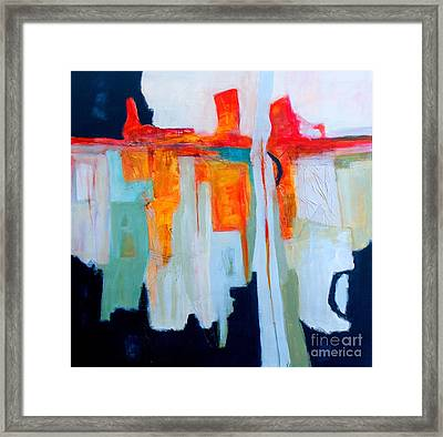 Intuition IIi Framed Print by Virginia Dauth