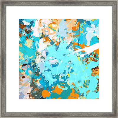 Intuitive Rise Framed Print by Lourry Legarde