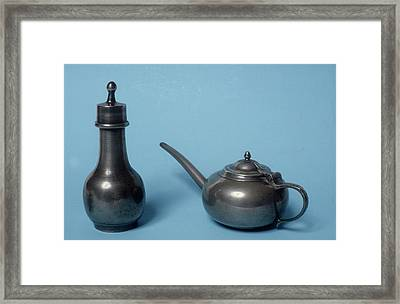 Invalid And Infant Feeders Framed Print by Science Photo Library