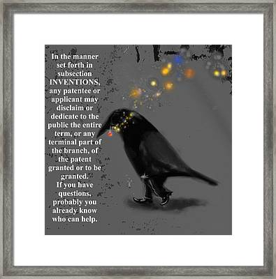 Inventions Framed Print