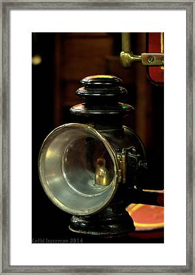 Inventive Framed Print by Kathi Isserman