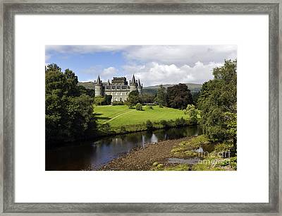 Inveraray Castle - D002464 Framed Print by Daniel Dempster
