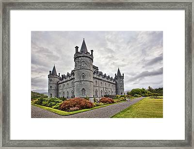 Inveraray Castle Framed Print by Marcia Colelli