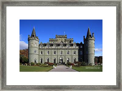 Inveraray Castle Framed Print by Maria Gaellman
