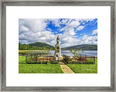 Inveraray War Memorial  Framed Print
