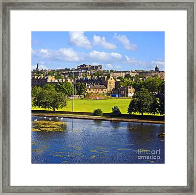 Inverleith Park Edinburgh Framed Print