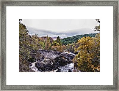 Invermoriston Bridge Framed Print