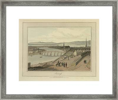 Inverness City On The Moray Firth Framed Print by British Library