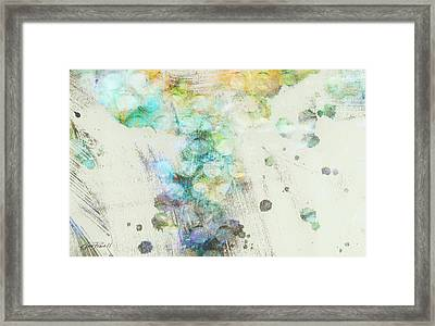 Inversion Abstract Art Framed Print by Ann Powell
