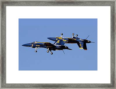 Inverted Angel Framed Print