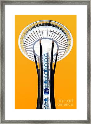 Inverted Needle Framed Print by Chris Anderson