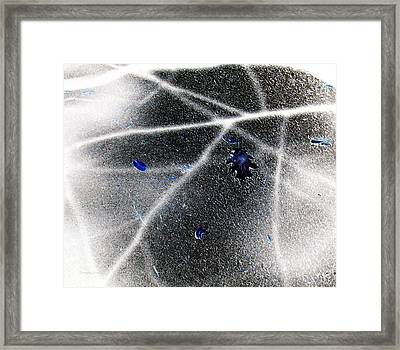 Inverted Shadows Framed Print