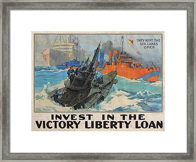 Invest In Victory Framed Print by L A Shafer