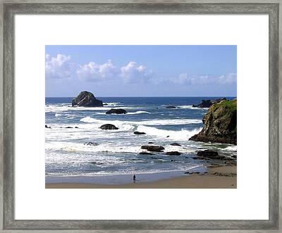 Invigorating Sea Air Framed Print