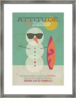 Invincible Summer Framed Print