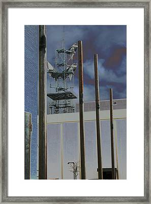Invisible Industry Framed Print