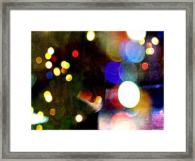 Invisible Love Chords Framed Print