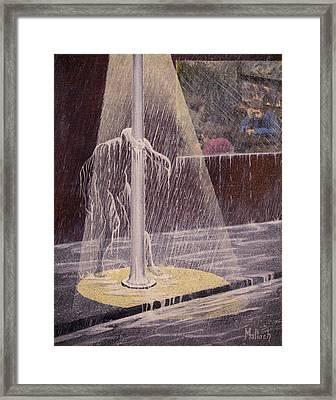 Invisible Man Framed Print by Jack Malloch