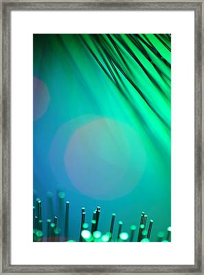 Invisible Sun Framed Print