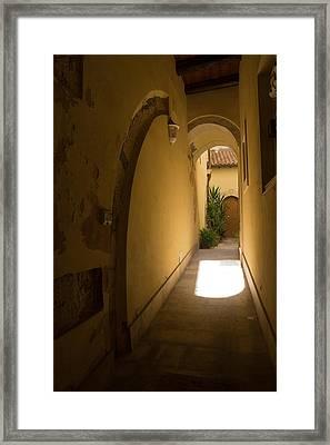 Framed Print featuring the photograph Invitation by Georgia Mizuleva