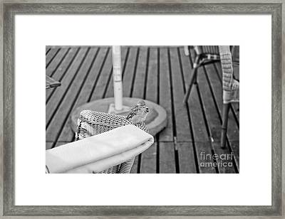 Invite Me To Your Table Framed Print