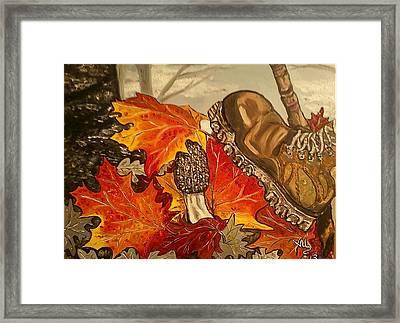 Involuntary Mushroom Slaughter Framed Print