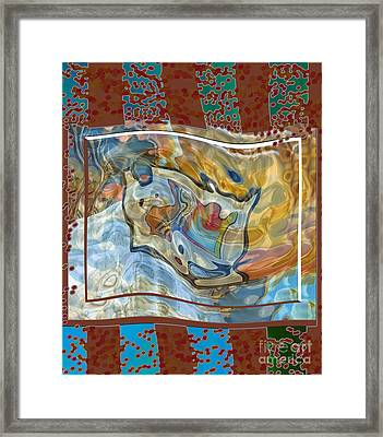 Inw_20a5095 Spread Love Rippling Framed Print